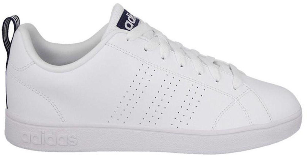 adidas vantaggio pulito vs f99252 scarpe da uomo (formatori) in bianco