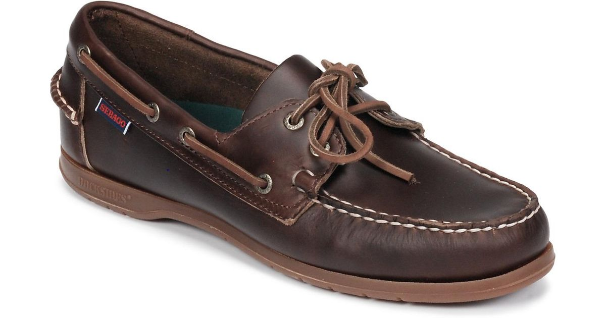 8741225c3bf Sebago Endeavor Fgl Waxed Boat Shoes in Brown for Men - Save 30% - Lyst
