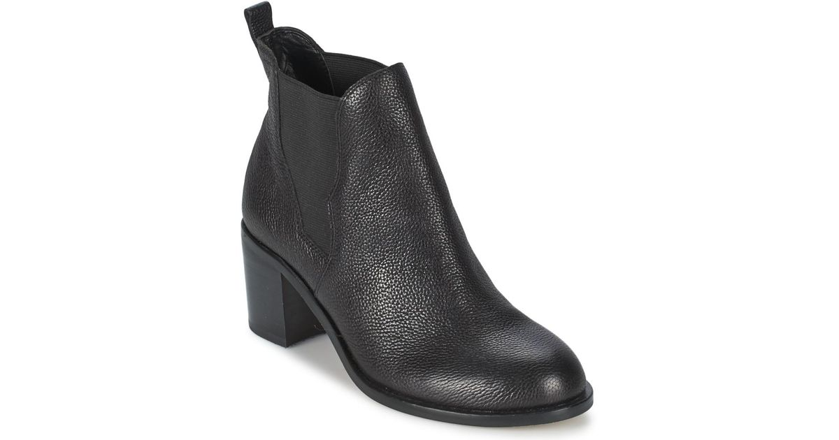 ae0b1c14f Sam Edelman Justin Women s Low Ankle Boots In Black in Black - Lyst