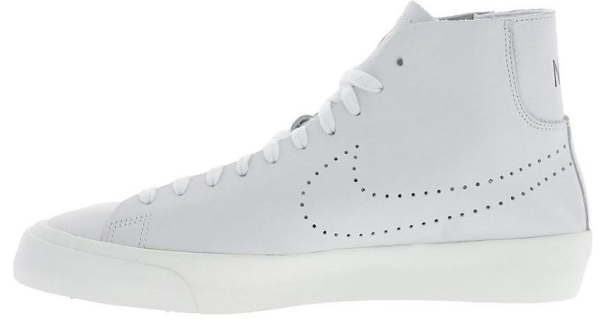 new arrival 88271 13f25 Nike Blazer Studio Mid Men s Shoes (high-top Trainers) In White in White  for Men - Lyst