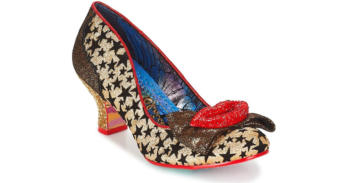 e3fe217803c Irregular Choice Carnival Kiss Shoes in Metallic - Save 12.5% - Lyst