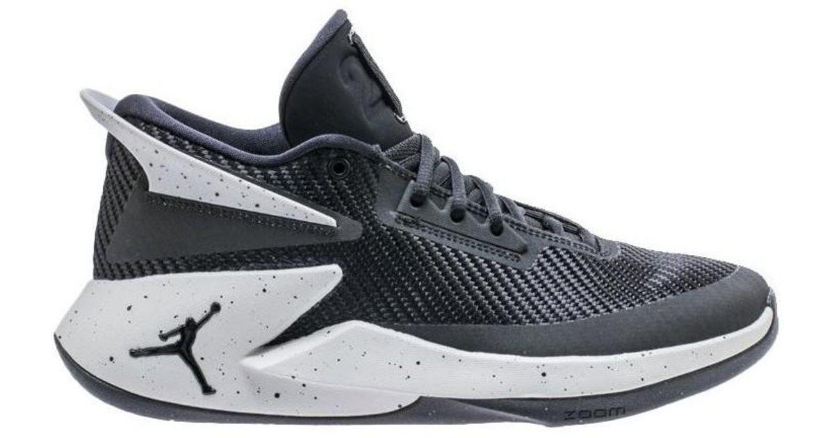 online retailer 59412 a53be Nike Jordan Fly Lockdown Men s Shoes (trainers) In Black in Black for Men -  Lyst