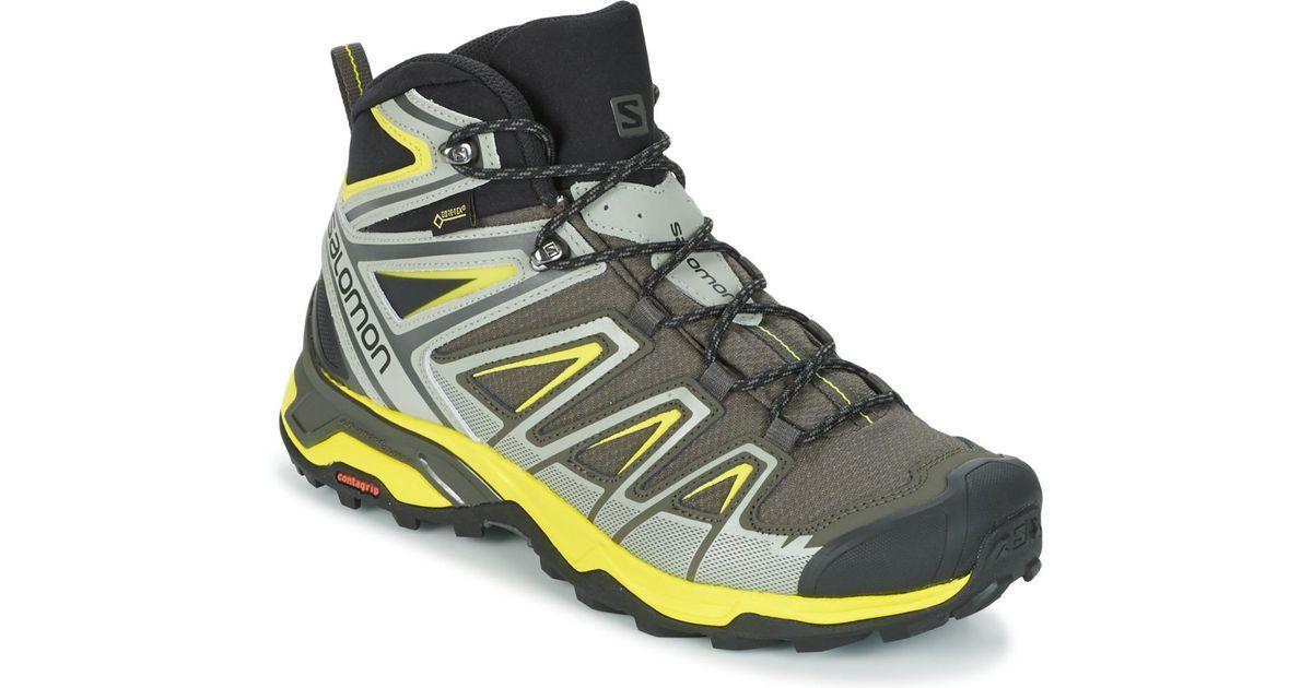 detailed look 0645c c11e6 Yves Salomon Gray X Ultra 3 Mid Gtx® Men's Walking Boots In Grey for men