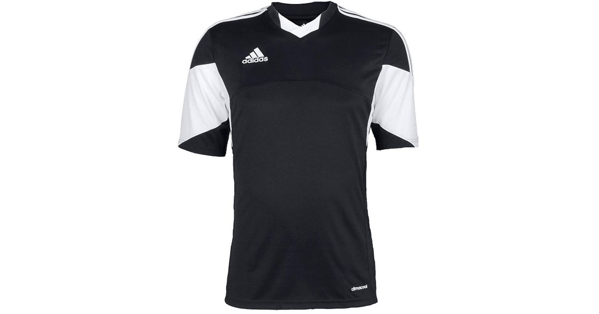 f268ae0f1 adidas Tiro 13 Kurzarm Trikot Men s T Shirt In Black in Black for Men - Lyst