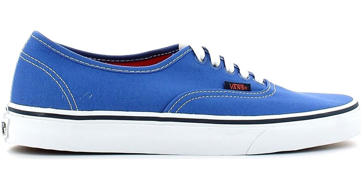 Lyst - Vans Vn-0 W4ndxs Trainers Man Blue Men's Shoes (trainers) In Blue in  Blue for Men