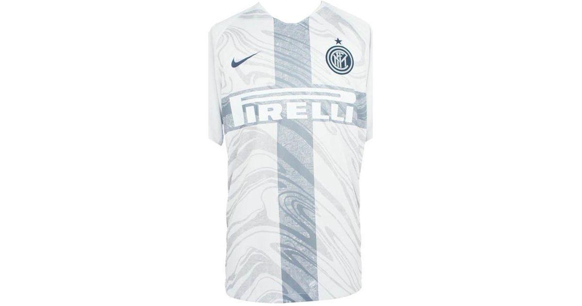 f4631f30a Nike 2018-2019 Inter Milan Third Football Shirt (icardi 9) Men's T Shirt In  Blue in Blue for Men - Lyst