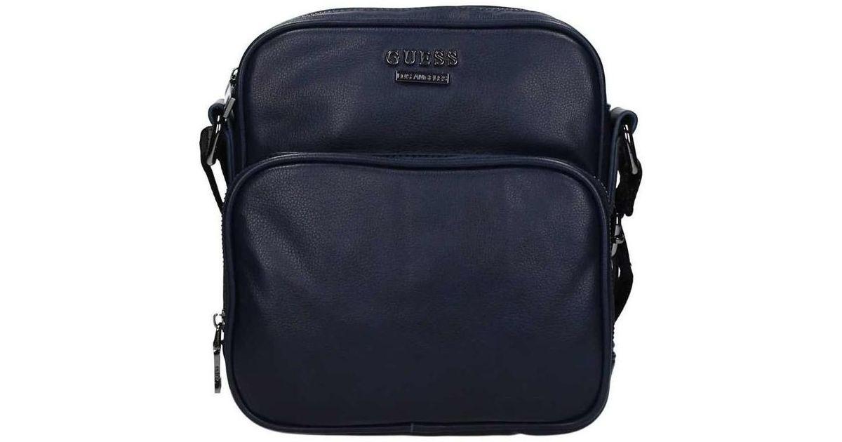 db4b69b060 Guess Hm6100 Pol73 Shoulder Bag Men s Shoulder Bag In Blue in Blue for Men  - Lyst