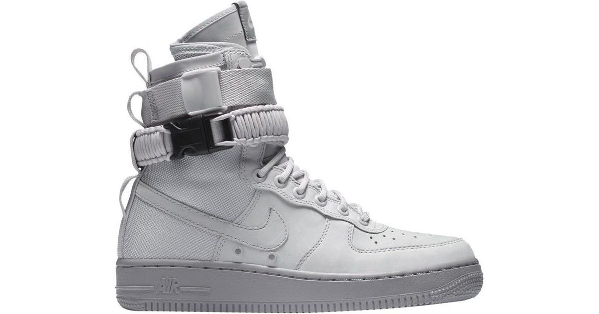 Nike Gray Wmns Special Field Air Force 1 Women\u0027s Shoes (high,top Trainers)  In Grey