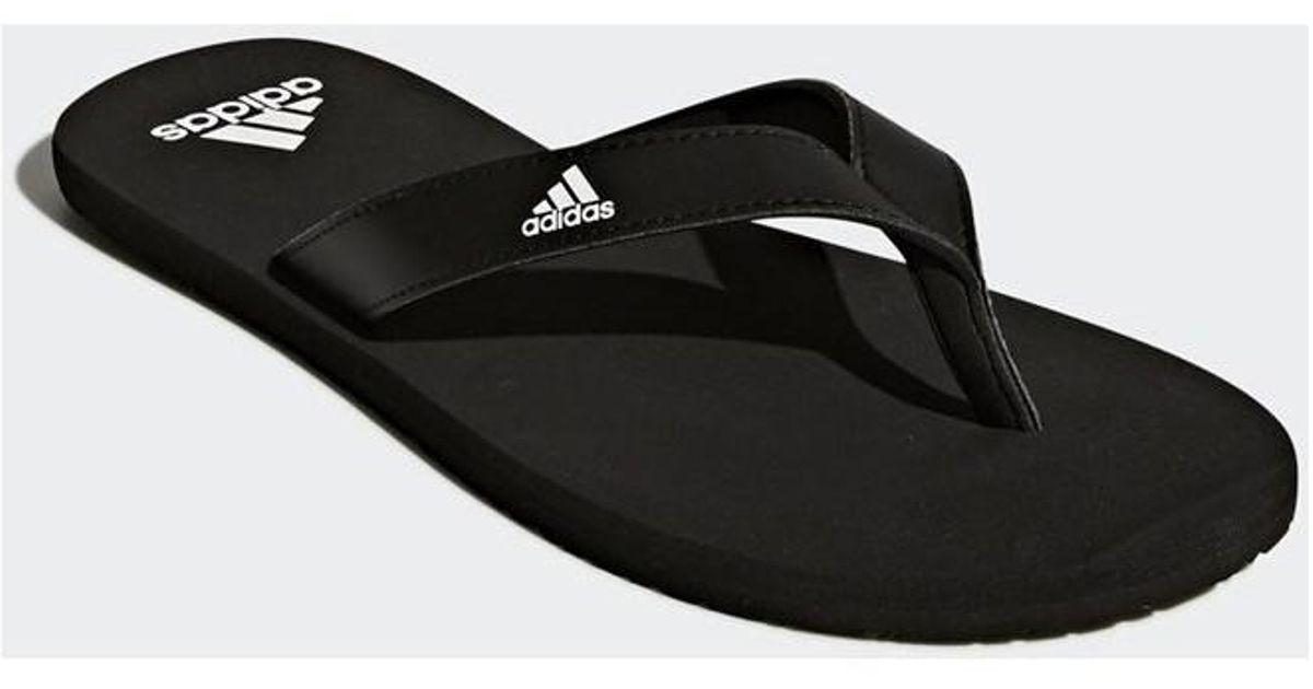 63ec08ae8 adidas Eezay Flip Flop Men's Flip Flops / Sandals (shoes) In Black in Black  for Men - Lyst