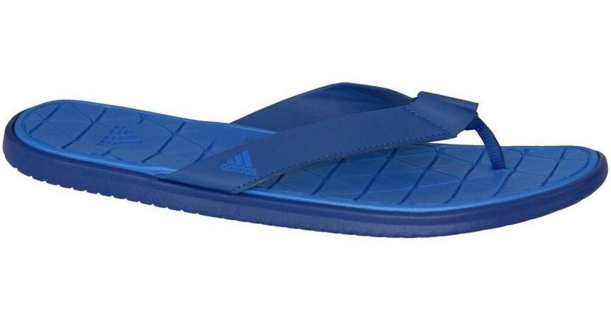 0e319e5383beb Adidas Caverock Cf Men s Flip Flops   Sandals (shoes) In Blue in Blue for  Men - Lyst