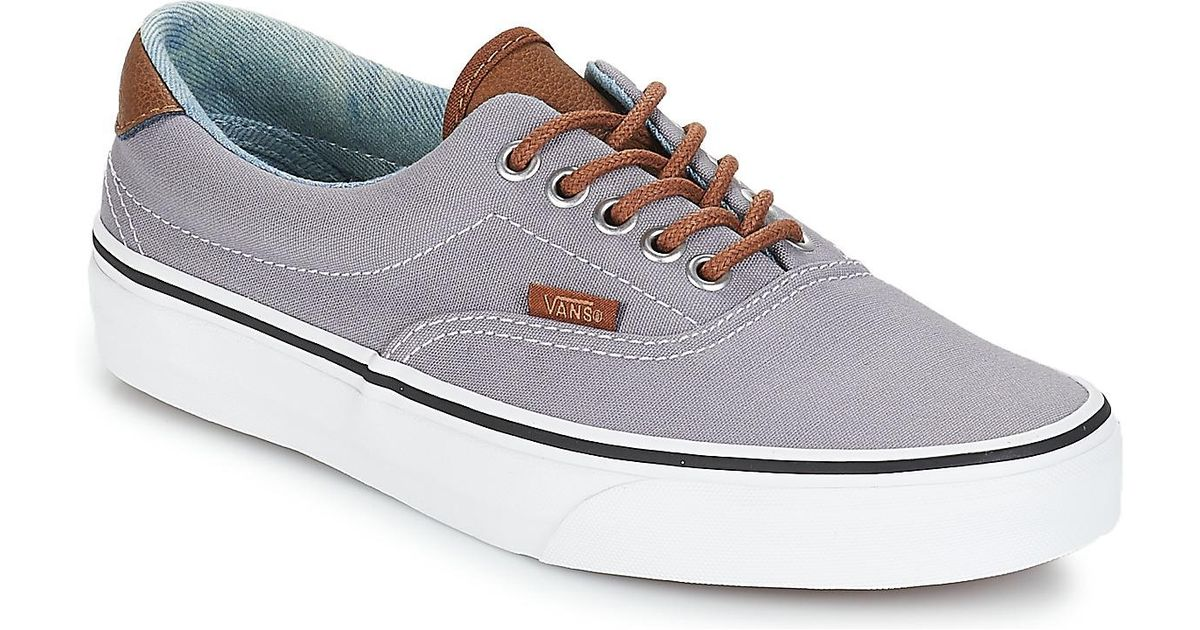 3fa744ef13 Vans Era 59 Women s Shoes (trainers) In Grey in Gray for Men - Lyst