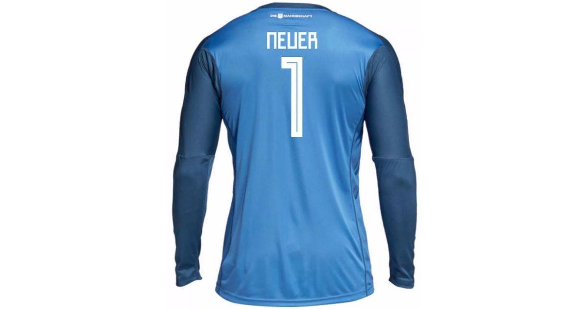 the best attitude 2ba14 33854 adidas Germany Home Neuer Goalkeeper Jersey 2018/2019 Men ...