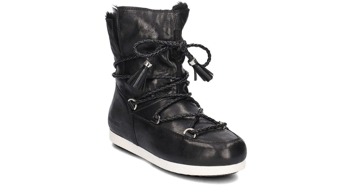 Black in Women's Black Boots 24200100001 In Boot Moon Snow Lyst wp0nWEYxCq