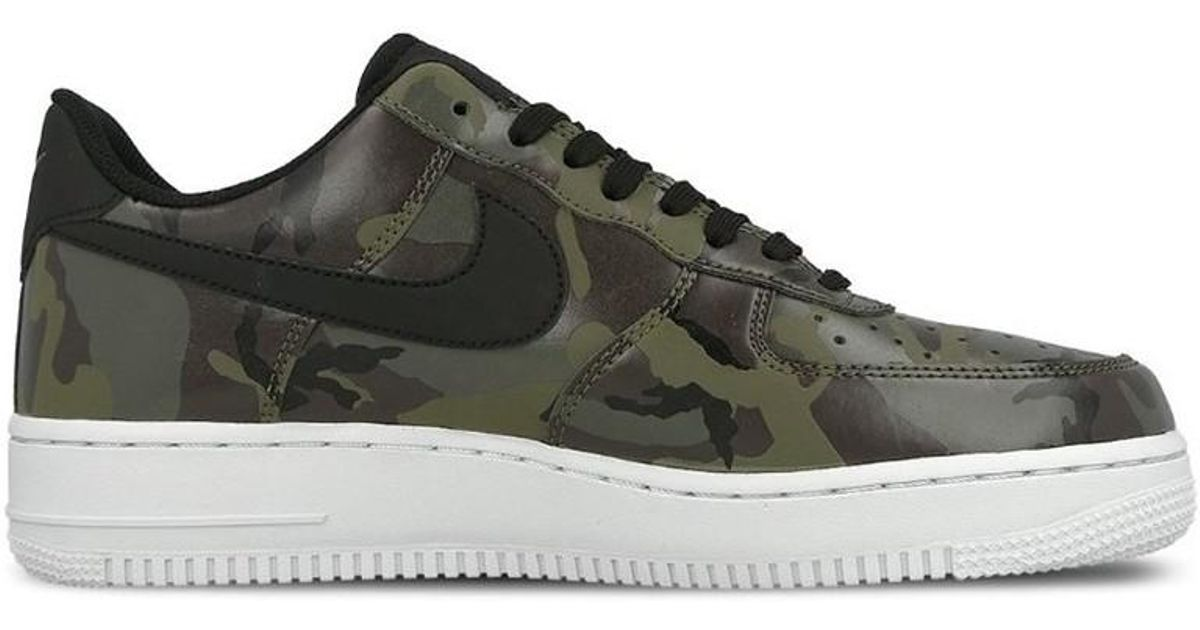 huge discount 4fd3f f6949 Nike Air Force 1 07 Lv8 Country Camo Pack Mens Shoes (trainers) In Black  in Black for Men - Lyst