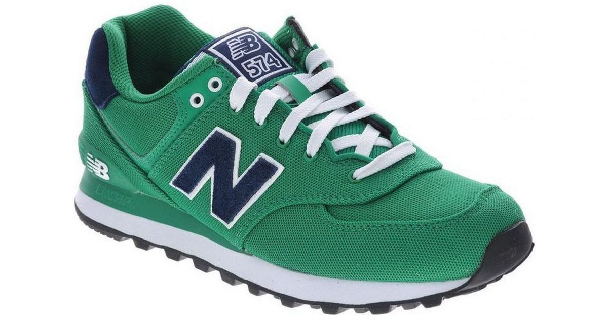 New Balance Ml574pog Men's Shoes (trainers) In Green for Men Lyst