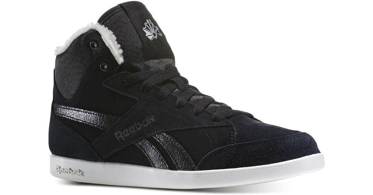 527279efc54f4 Reebok Fabulista Mid Ii Al Women s Shoes (high-top Trainers) In Black in  Black - Lyst