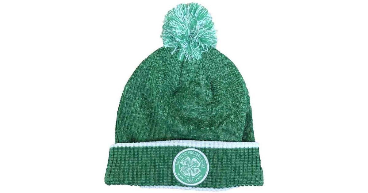 f645fd410d7 New Balance 2018-2019 Celtic Woolie Hat Men s Beanie In Green in Green for  Men - Lyst