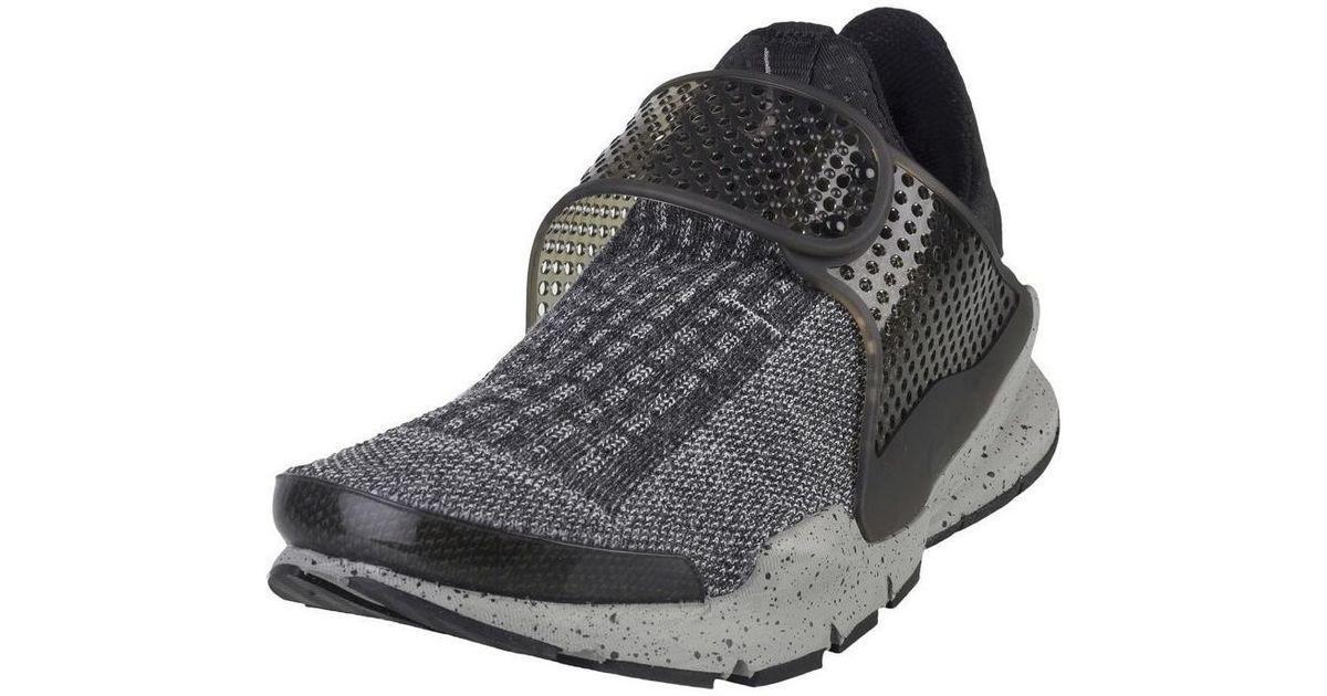 quality design 20e2b 60728 Nike Sock Dart Se Premium Men s Shoes (trainers) In Black in Black for Men  - Lyst