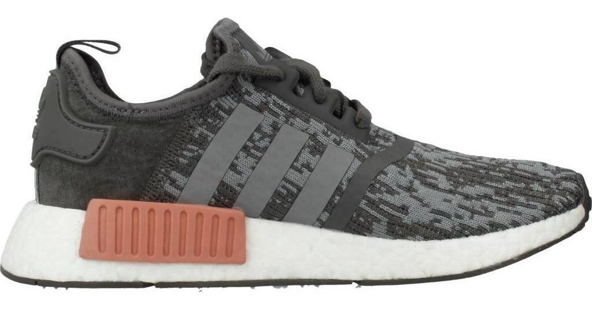a432ae7c397d4 Adidas Nmd R1 W Women s Shoes (trainers) In Grey in Gray - Lyst