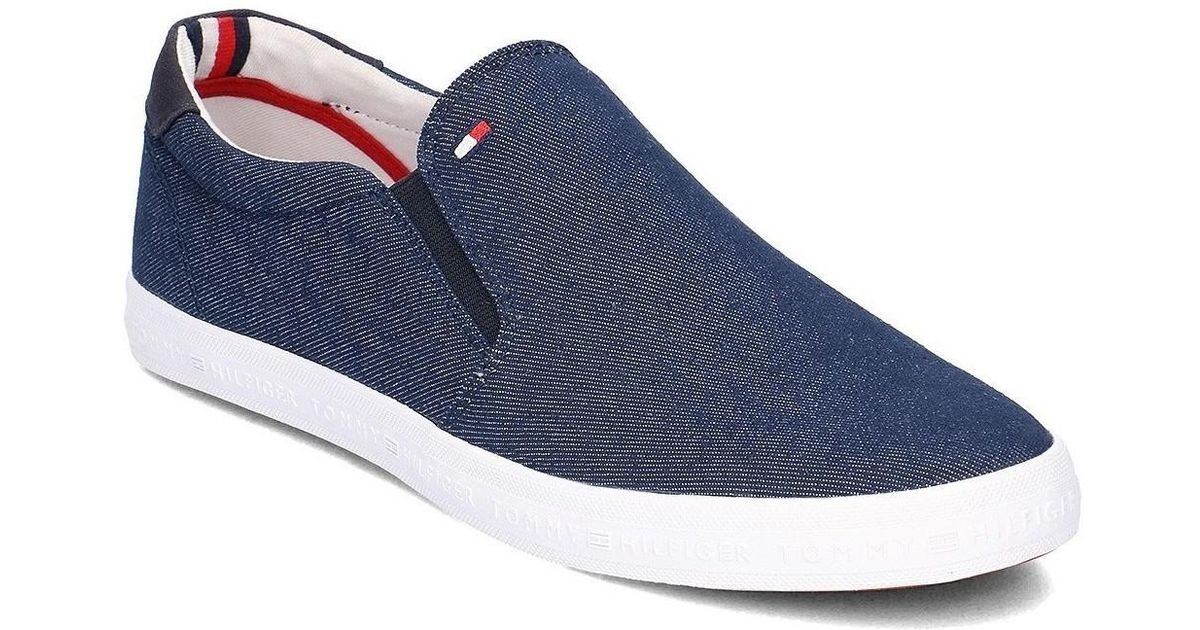 263c37d9d71 Tommy Hilfiger Howell 2f Men s Slip-ons (shoes) In Multicolour in Blue for  Men - Lyst