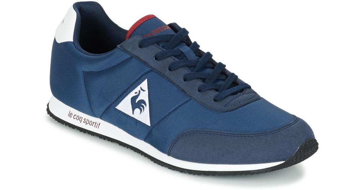 f8683495c6b Le Coq Sportif Racerone Nylon Women's Shoes (trainers) In Blue in Blue -  Lyst