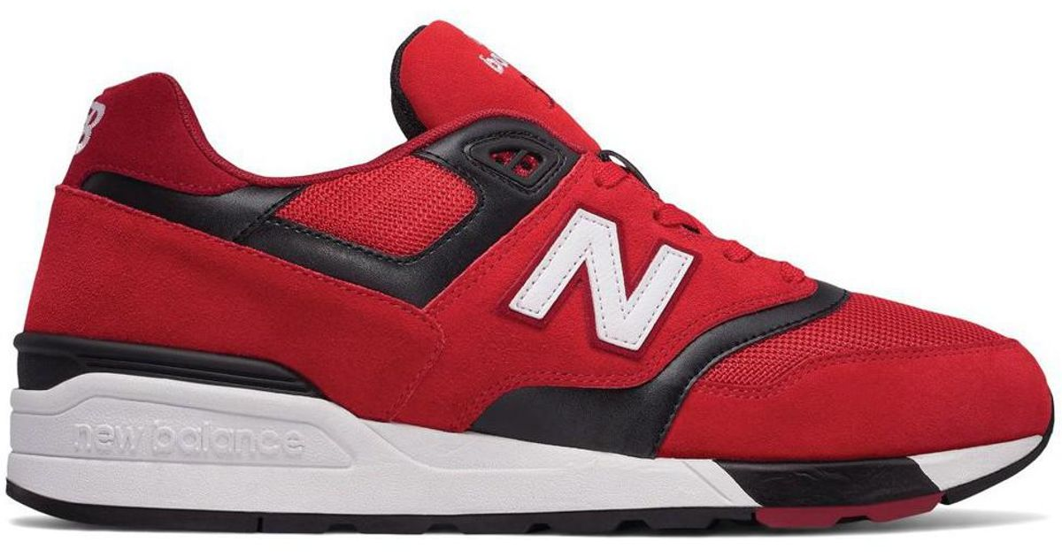 Sneakers NEW BALANCE ML597GSB Red