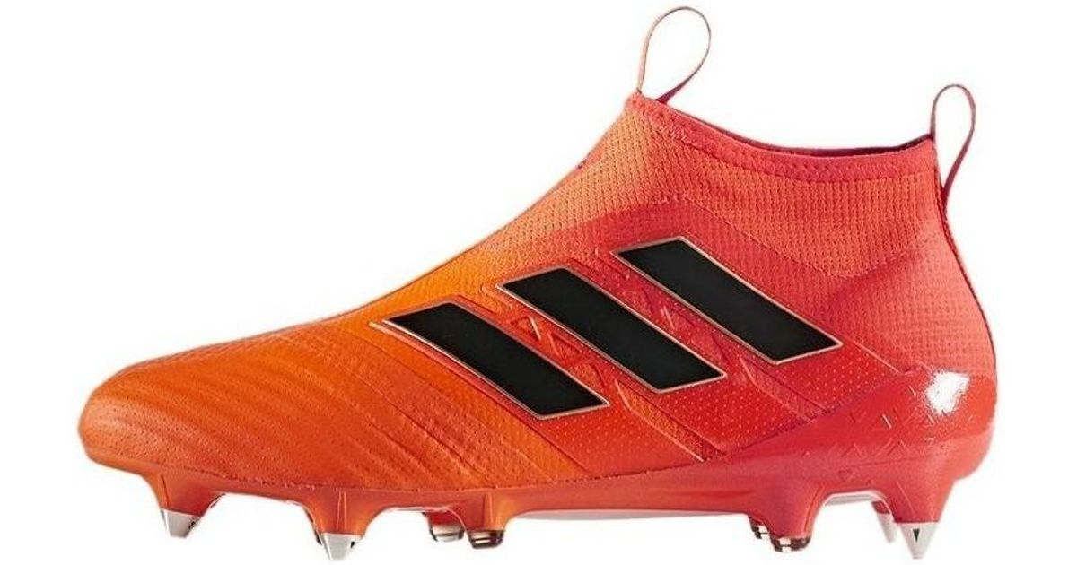 new styles 011ed 40c35 adidas Ace 17 Purecontrol Sg Mens Football Boots In Orange in Orange for  Men - Lyst
