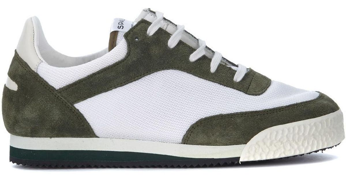 18a228c114bd Comme Des Garçons X Spalwart Pitch Suede And Mesh Sneaker Men s Shoes ( trainers) In Green in Green for Men - Lyst