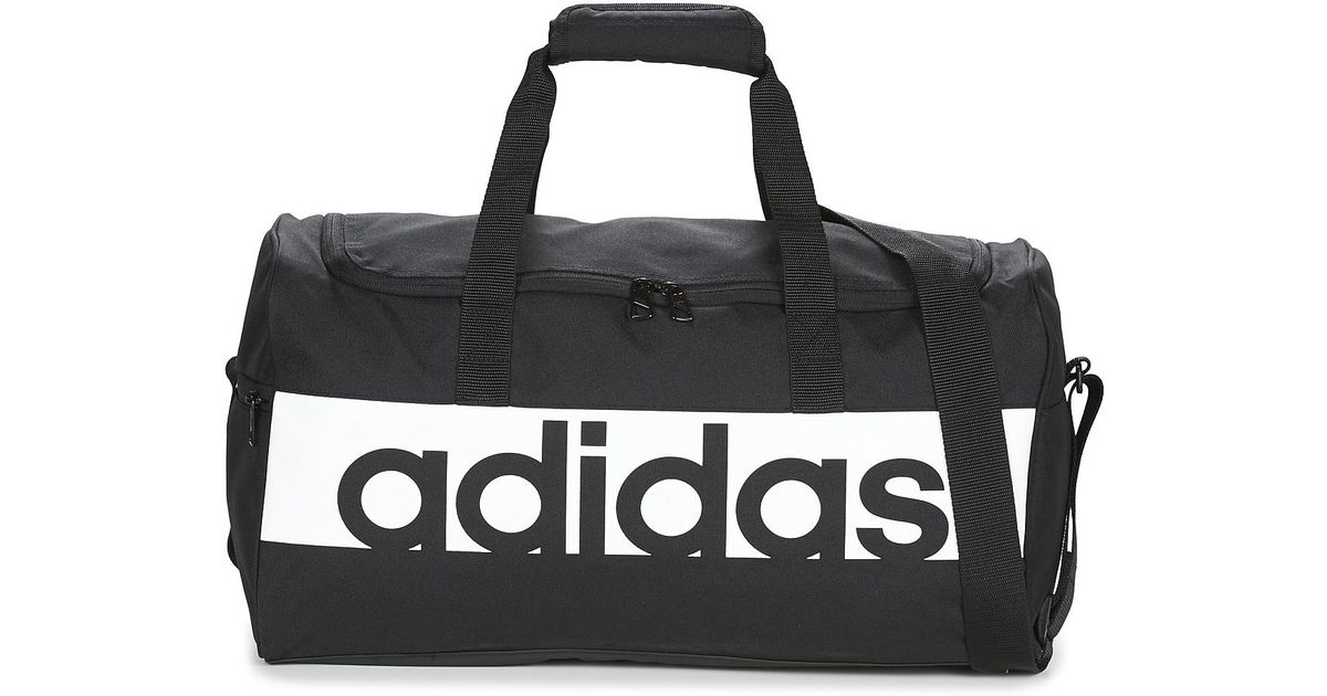 a68dfb2b767e adidas Linear Teambag Small Sports Bag in Black for Men - Lyst
