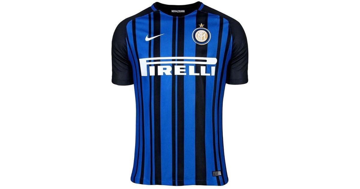 71205223e Nike 2017-18 Inter Milan Home Shirt (icardi 9) Women's T Shirt In Black in  Black - Lyst