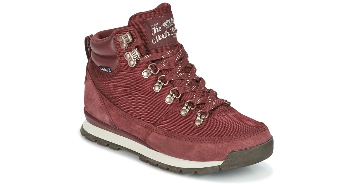 3fece5fc80adfa The North Face Back To Berkeley Redux Leather Walking Boots in Red - Lyst