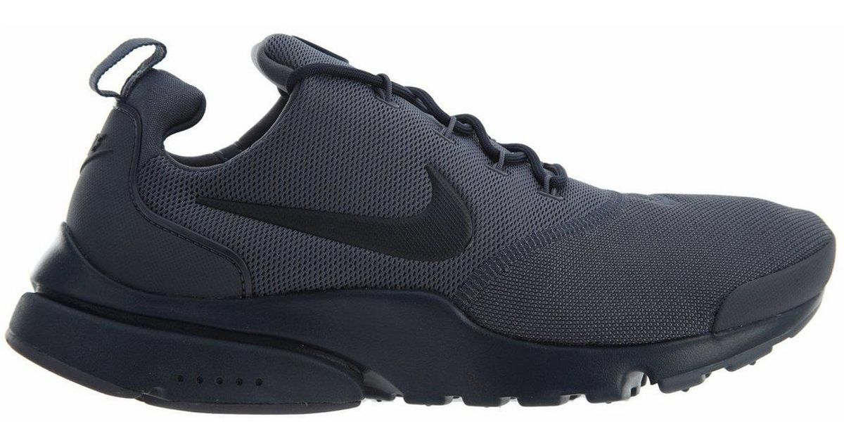 7940bd6a697cc Nike Presto Fly Trainers Light Carbon Grey in Gray for Men - Lyst