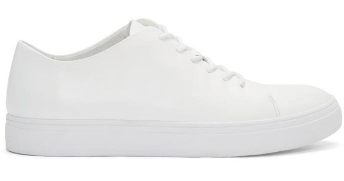 Tiger of Sweden White YNGVE Sneakers jYk7V37FZy