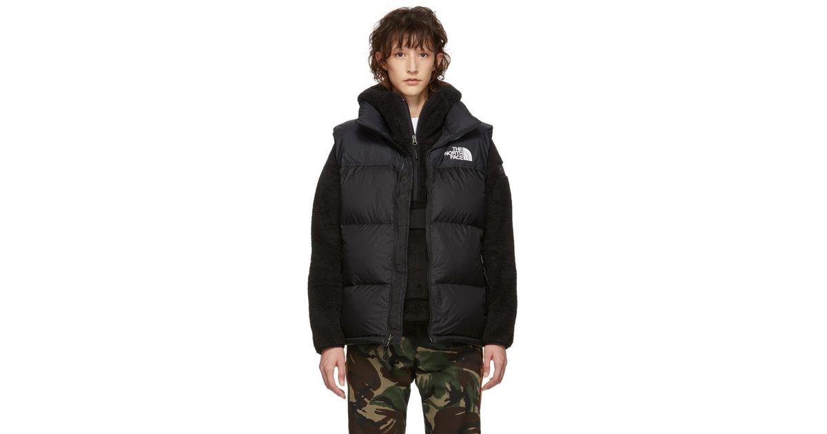 37bf6954e17 Lyst - Veste en duvet noire 1996 Retro Nuptse The North Face en coloris Noir