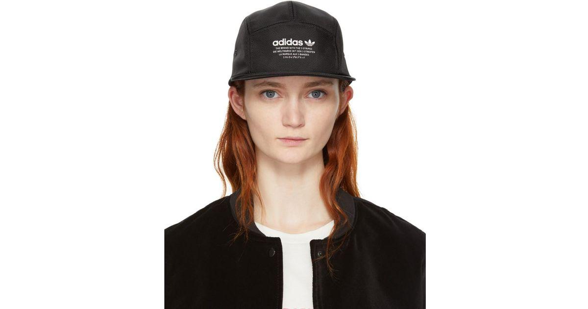 2b9c6ffe988 Lyst - adidas Originals Black Nmd Running Cap in Black