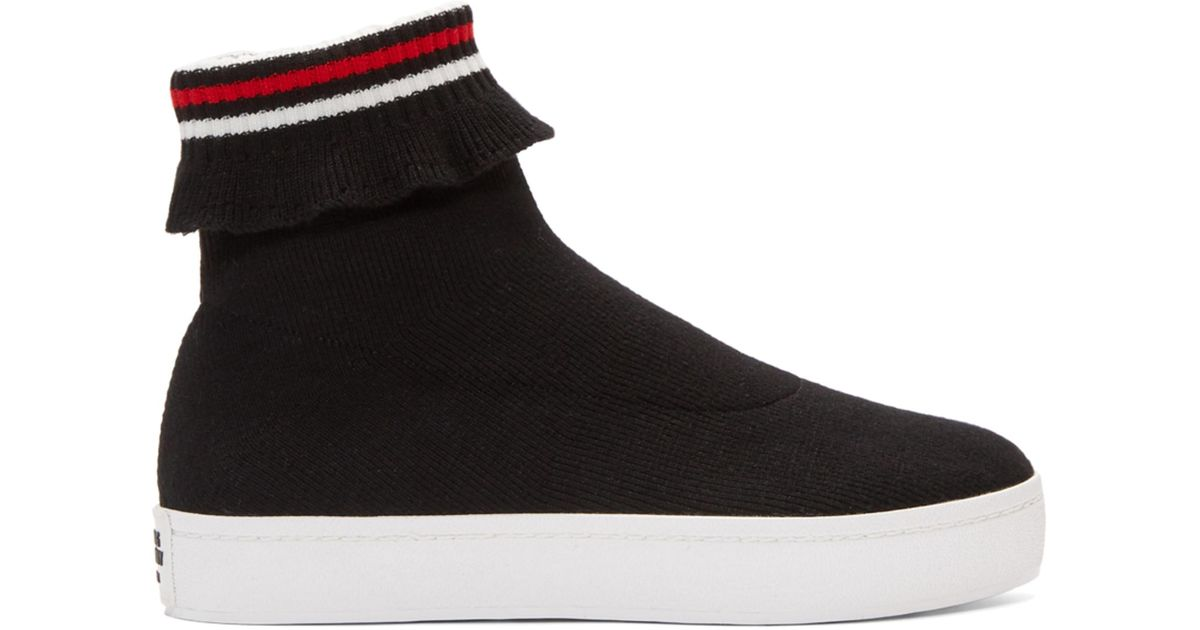 Opening Ceremony Black Bobby High-Top Sneakers raDaaEs
