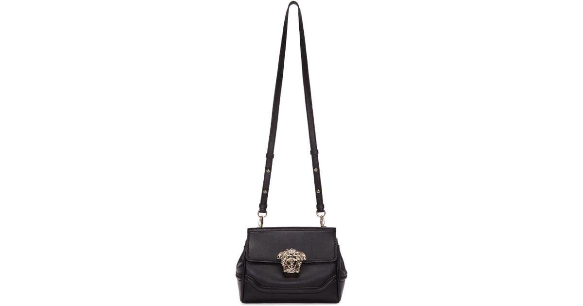e3e067a7d89c Lyst - Versace Black Small Medusa Bag in Black