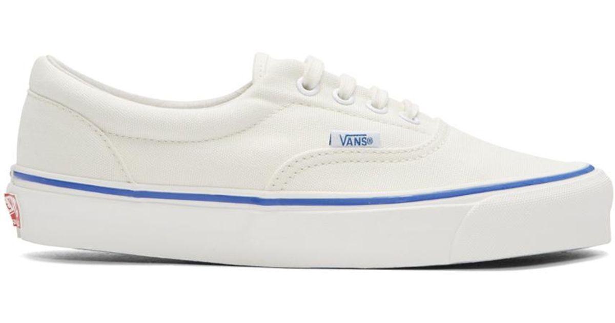 Lyst - Vans Ivory Og Era Lx Sneakers in White for Men c32f3d3ff5