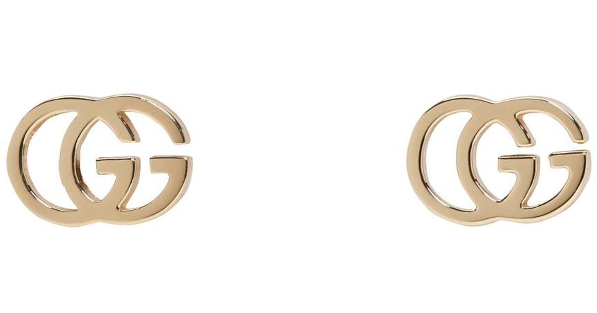 70adbe5a3 Gucci Gold Logo Earrings - Best All Earring Photos Kamilmaciol.Com