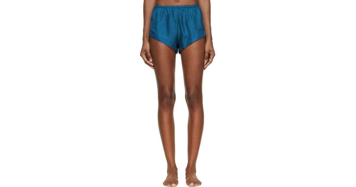 1b9e12e76f320b raphaella-riboud-blue-Blue-Silk-Twill-Yves-Shorts.jpeg