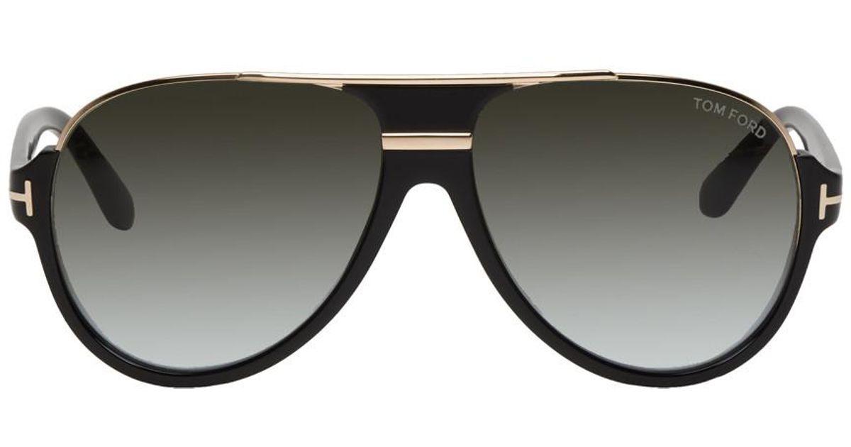 ecc106df482 Tom Ford Black Dimitry Sunglasses in Black for Men - Lyst
