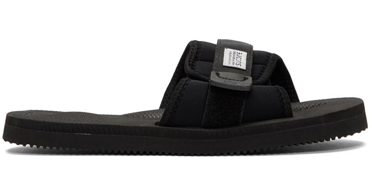 20b5e493cb41 Lyst - Suicoke Black Padri Sandals in Black for Men - Save 23%