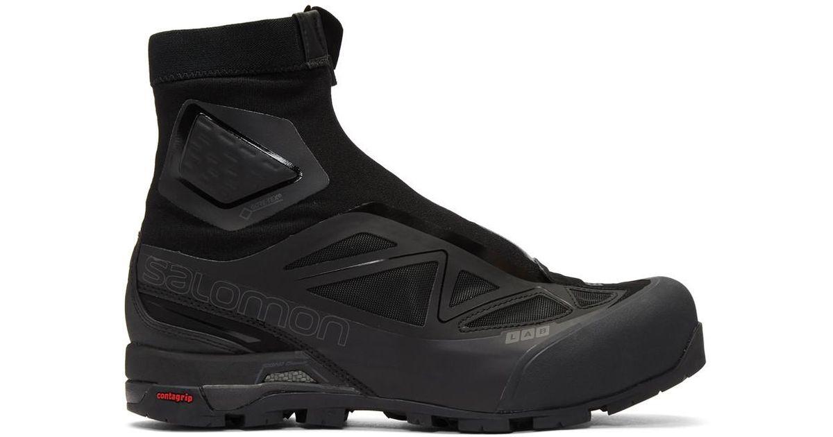 7f5b98c41f8f Lyst - Yves Salomon Black Limited Edition S-lab X-alp Gtx High-top Sneakers  in Black