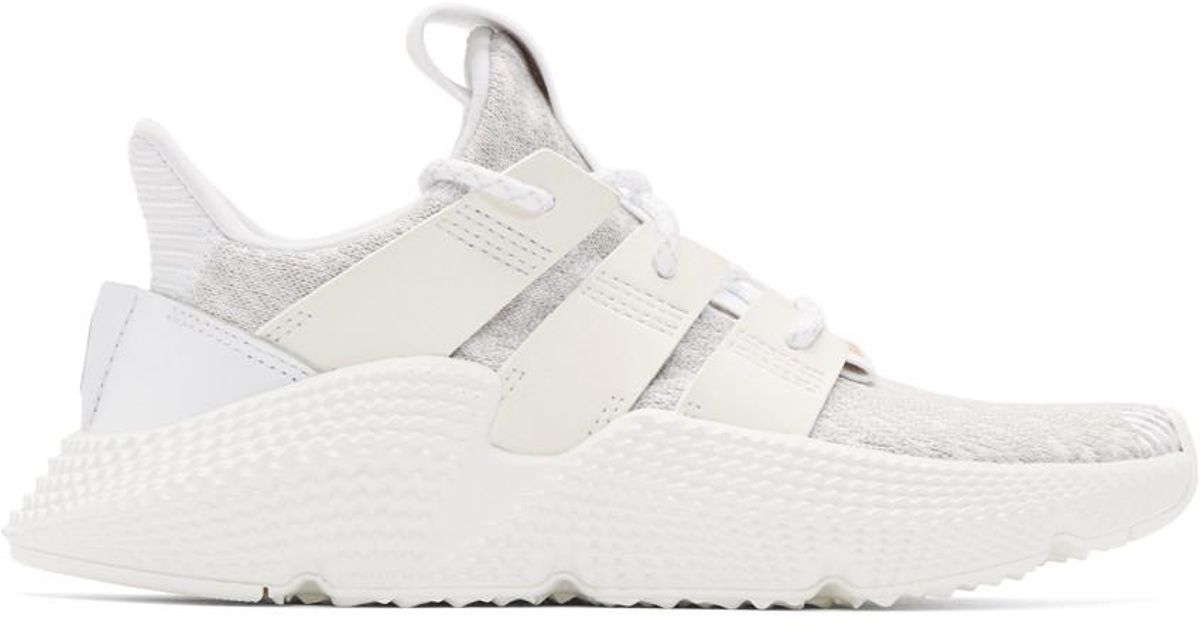 reputable site 10114 500e1 Lyst - adidas Originals White Prophere Sneakers in White