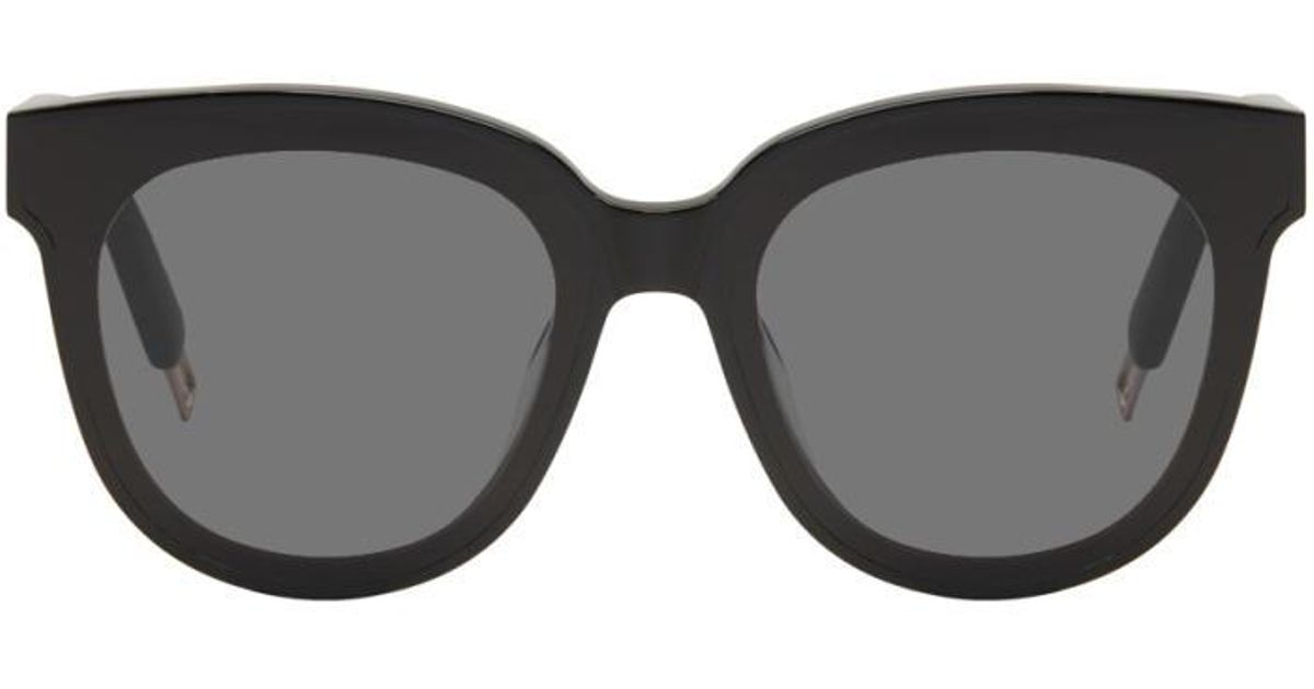 fe7a3f2778c Lyst - Gentle Monster Black In Scarlet Sunglasses in Black for Men