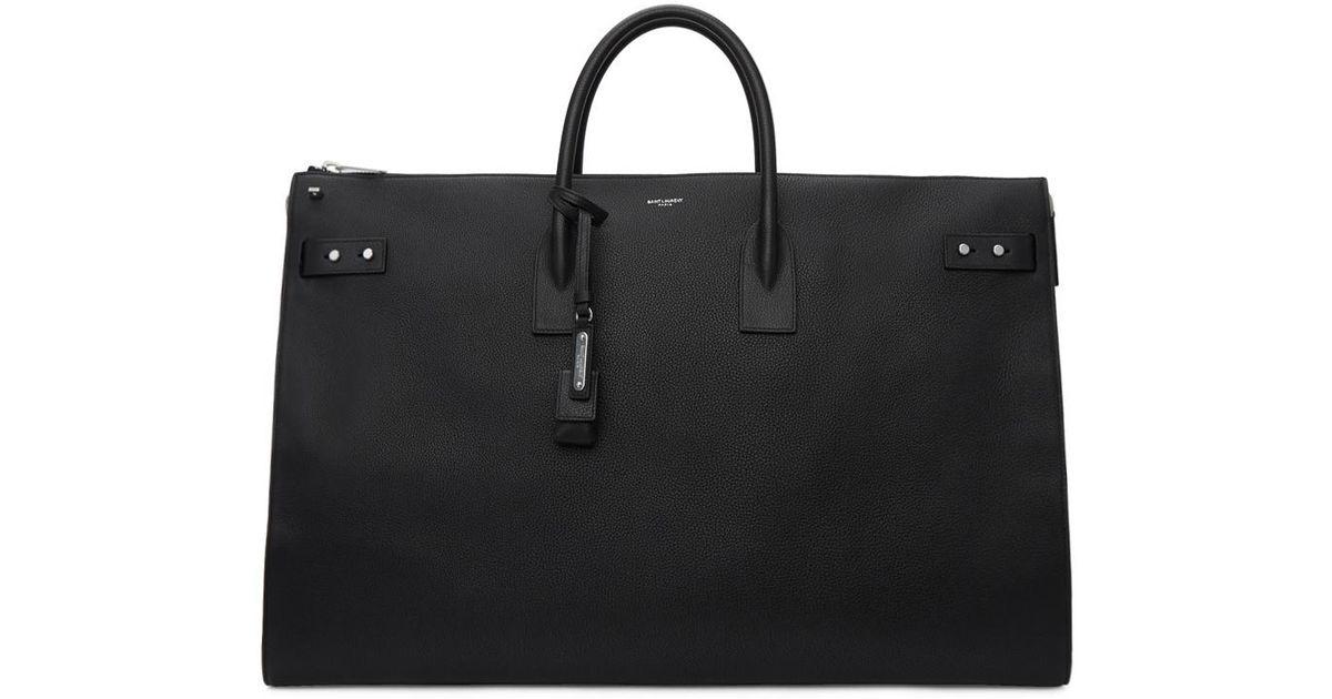 b20bbb7d34cd Lyst - Saint Laurent Black 72h Sac De Jour Bag in Black for Men