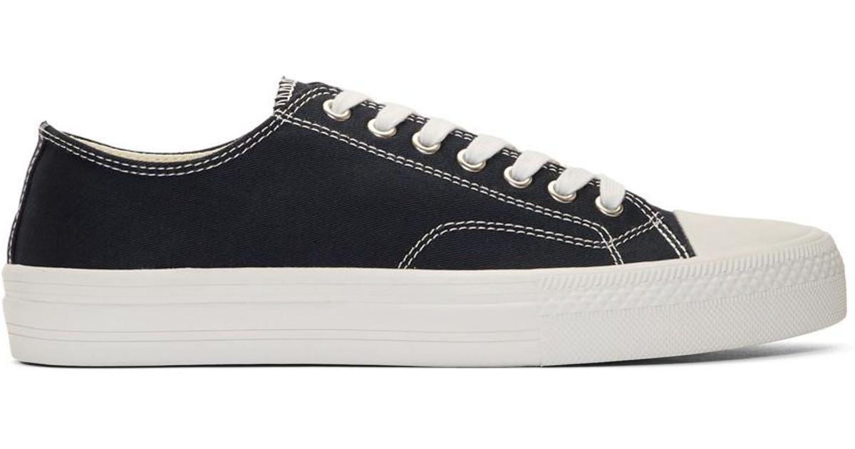 Navy Twill Sneakers Junya Watanabe 6NBtEw2Ok