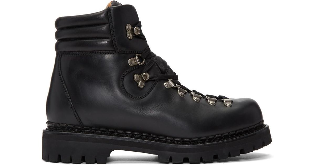 455ffeafe6af Lyst - Gucci Black New Tracker Boots in Black for Men