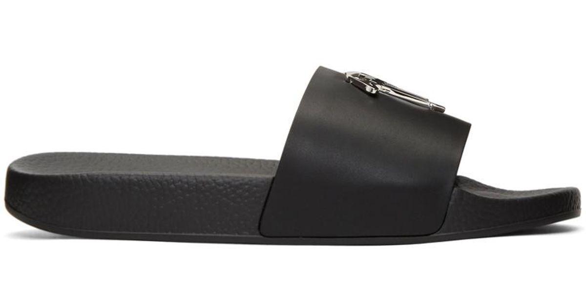 Giuseppe Zanotti All Over Logo Burel Sandals wPugI