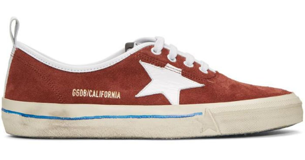new products 83015 33df0 golden-goose-deluxe-brand-burgundy-Burgundy-Suede-California-Sneakers.jpeg